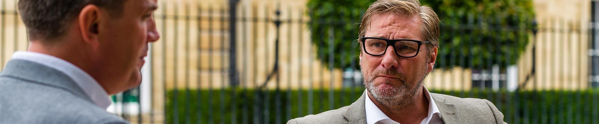 MB James Palmer Cambridge Visit